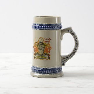World's Greatest Stepfather Father's Day Gift Beer Steins