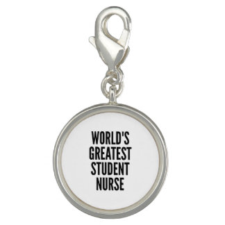 Worlds Greatest Student Nurse Photo Charms