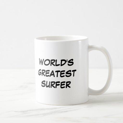 """World's Greatest Surfer"" Mug"