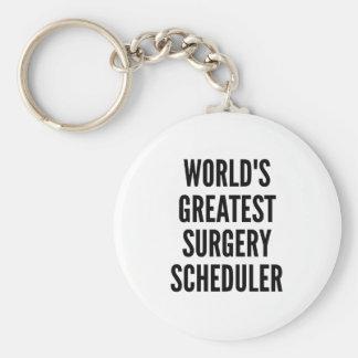 Worlds Greatest Surgery Scheduler Keychain