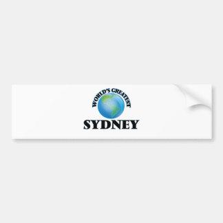 World's Greatest Sydney Bumper Sticker