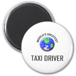 World's Greatest Taxi Driver Magnets