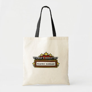 World's Greatest Teacher Assistant Tote Bag