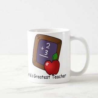 World's Greatest Teacher Gift Coffee Mug