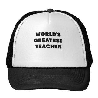 WORLDS GREATEST TEACHER.png Trucker Hat