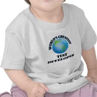 World's Greatest Test Developer Shirts