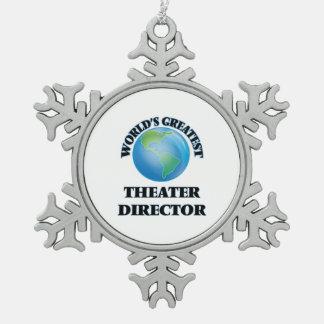 World's Greatest Theater Director Ornament