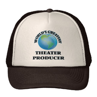 World's Greatest Theater Producer Mesh Hat