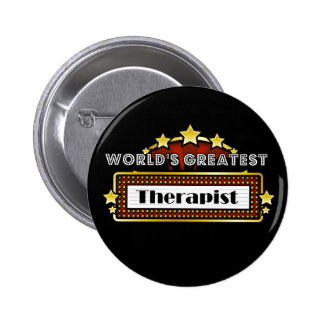 World's Greatest Therapist 2 Inch Round Button