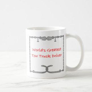 Worlds Greatest Tow Truck Driver Coffee Mug