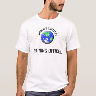 World's Greatest Training Officer T-Shirt