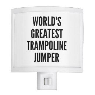 Worlds Greatest Trampoline Jumper Nite Lite