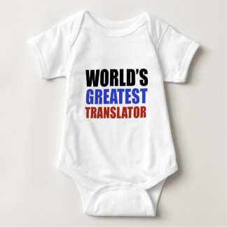 World's greatest TRANSLATOR Baby Bodysuit