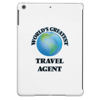 World's Greatest Travel Agent Cover For iPad Air