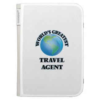 World's Greatest Travel Agent Kindle Folio Case