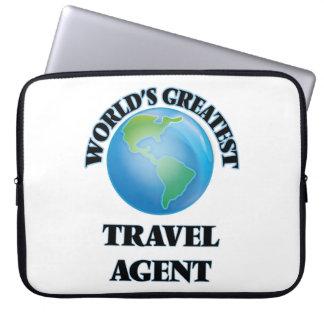 World's Greatest Travel Agent Laptop Sleeve