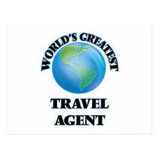 World's Greatest Travel Agent Postcards
