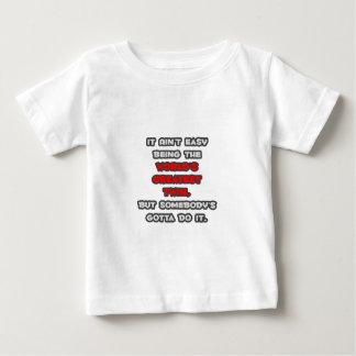 World's Greatest Twin Joke Baby T-Shirt