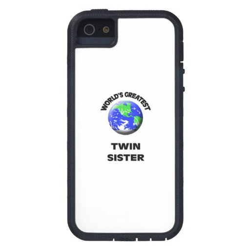 World's Greatest Twin Sister iPhone 5/5S Case