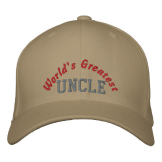 World's Greatest Uncle Embroidered Hat
