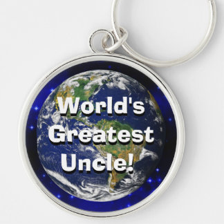 World's Greatest Uncle! Keychain