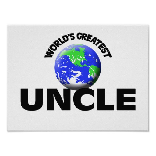 World's Greatest Uncle Poster