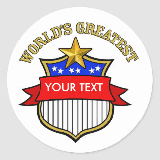 World's Greatest Veterans Day Stickers