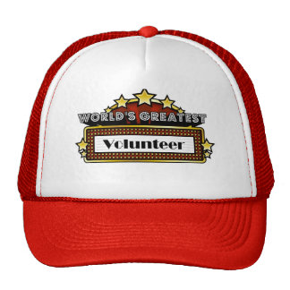 World's Greatest Volunteer Hats