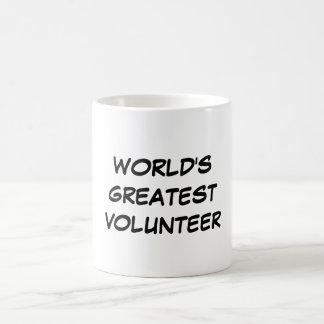"""""""World's Greatest Volunteer"""" Mug"""