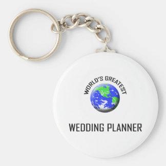 World's Greatest Wedding Planner Keychain