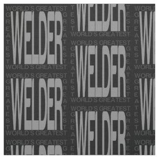 Worlds Greatest Welder Fabric