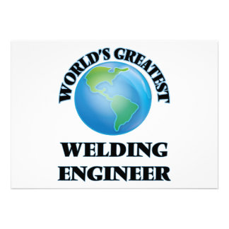 World's Greatest Welding Engineer Invite