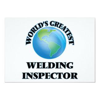 "World's Greatest Welding Inspector 5"" X 7"" Invitation Card"