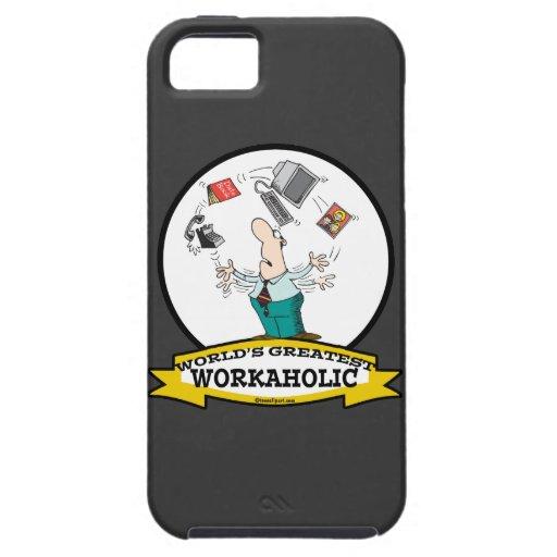 WORLDS GREATEST WORKAHOLIC MEN II CARTOON iPhone 5 COVER