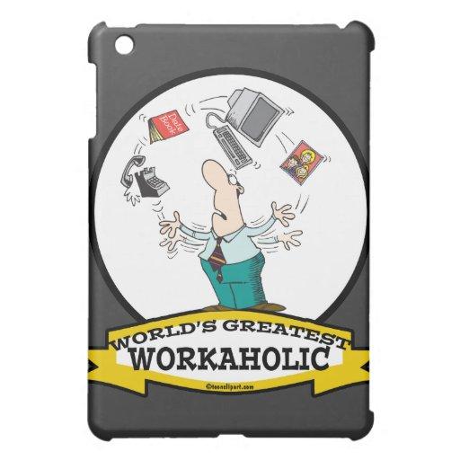 WORLDS GREATEST WORKAHOLIC MEN II CARTOON COVER FOR THE iPad MINI