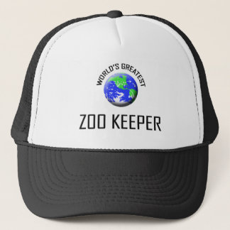 World's Greatest Zoo Keeper Trucker Hat