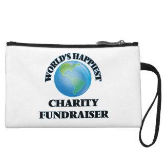 World's Happiest Charity Fundraiser Wristlet Clutch