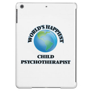 World's Happiest Child Psychotherapist iPad Air Covers