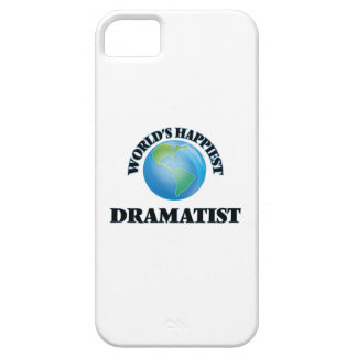 World's Happiest Dramatist iPhone 5 Cover