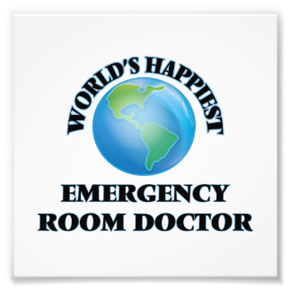 World's Happiest Emergency Room Doctor Photograph