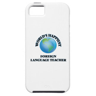 World's Happiest Foreign Language Teacher iPhone 5 Cover