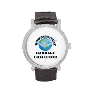 World's Happiest Garbage Collector Wrist Watch