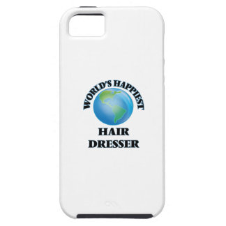 World's Happiest Hair Dresser iPhone 5 Cases