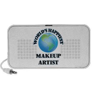 World's Happiest Makeup Artist Notebook Speaker