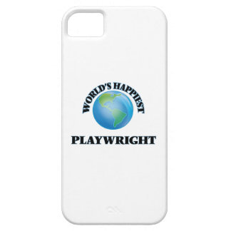 World's Happiest Playwright iPhone 5 Cases