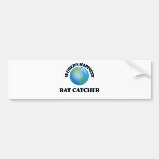 World's Happiest Rat Catcher Bumper Sticker