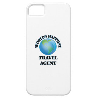 World's Happiest Travel Agent iPhone 5 Cover