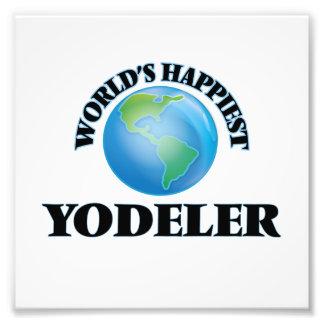 World's Happiest Yodeler Photo Print