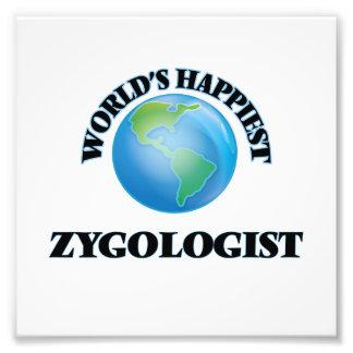 World's Happiest Zygologist Photo Print