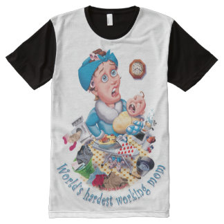 World's hardest working mom All-Over-Print T-Shirt